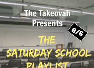 Saturday School Playlist 8/30